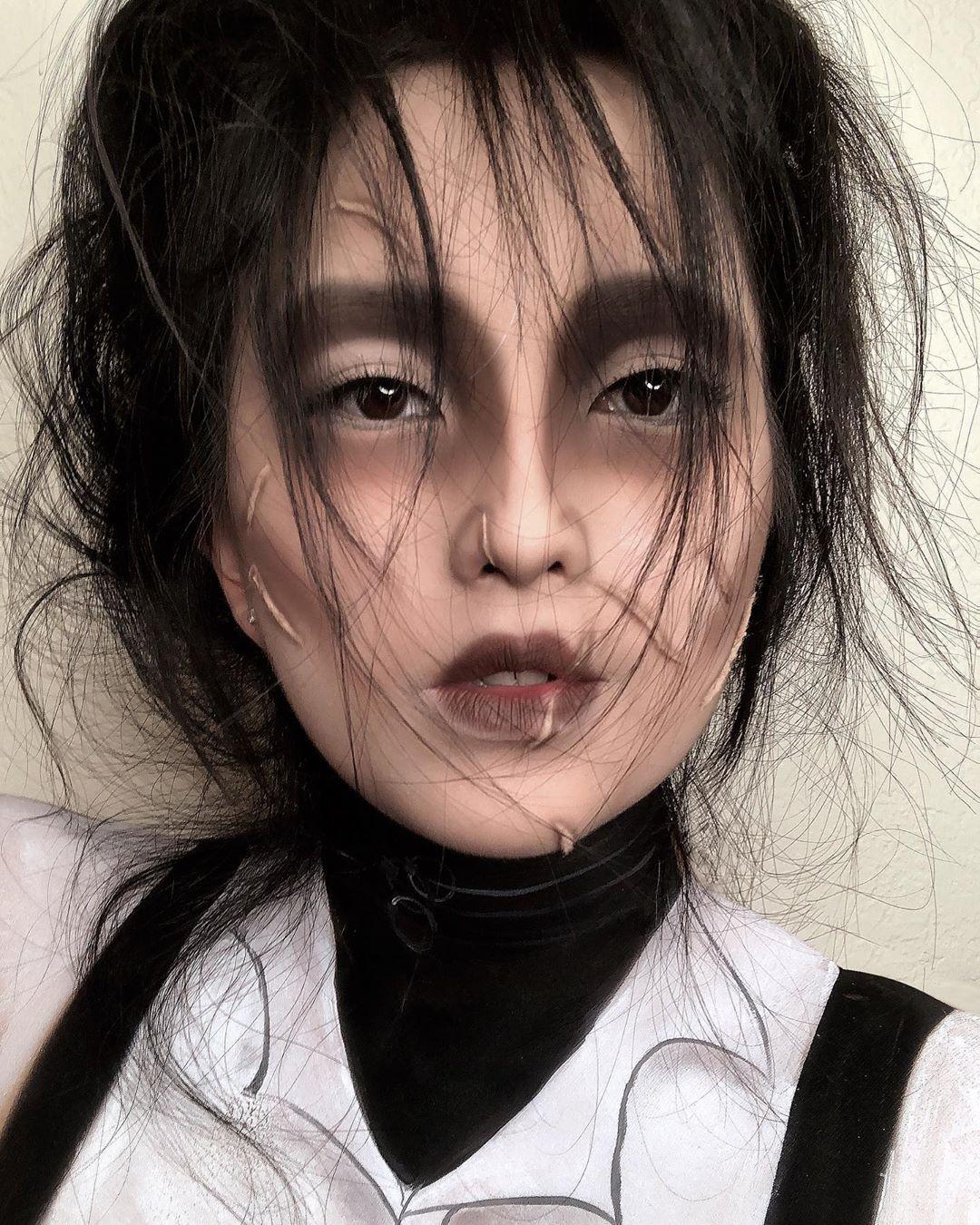 maquiagem de Halloween 8