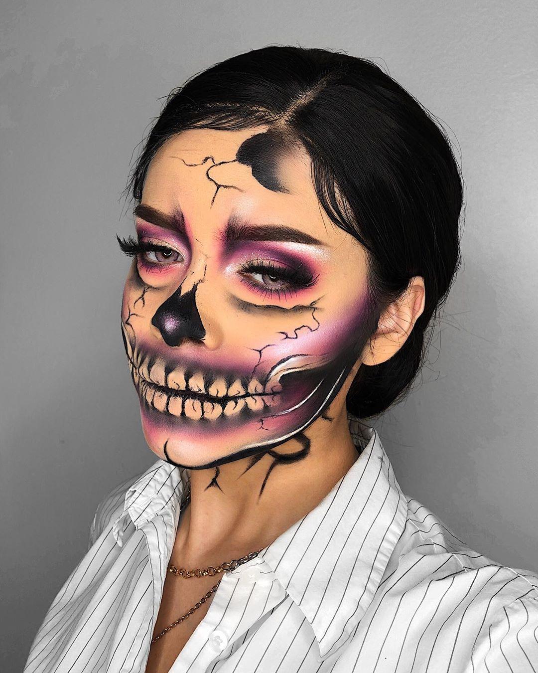 maquiagem de Halloween 99