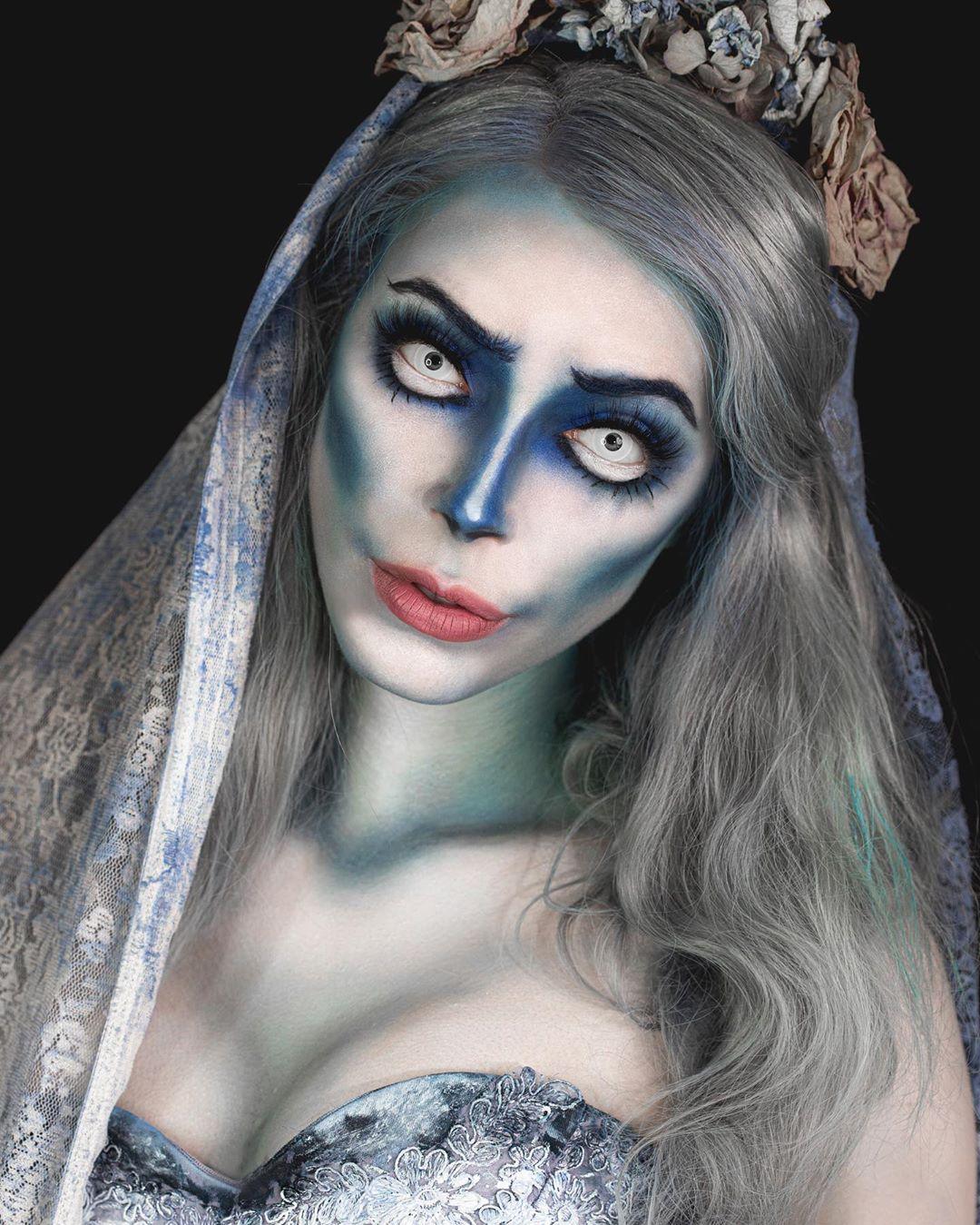 maquiagem de Halloween 6