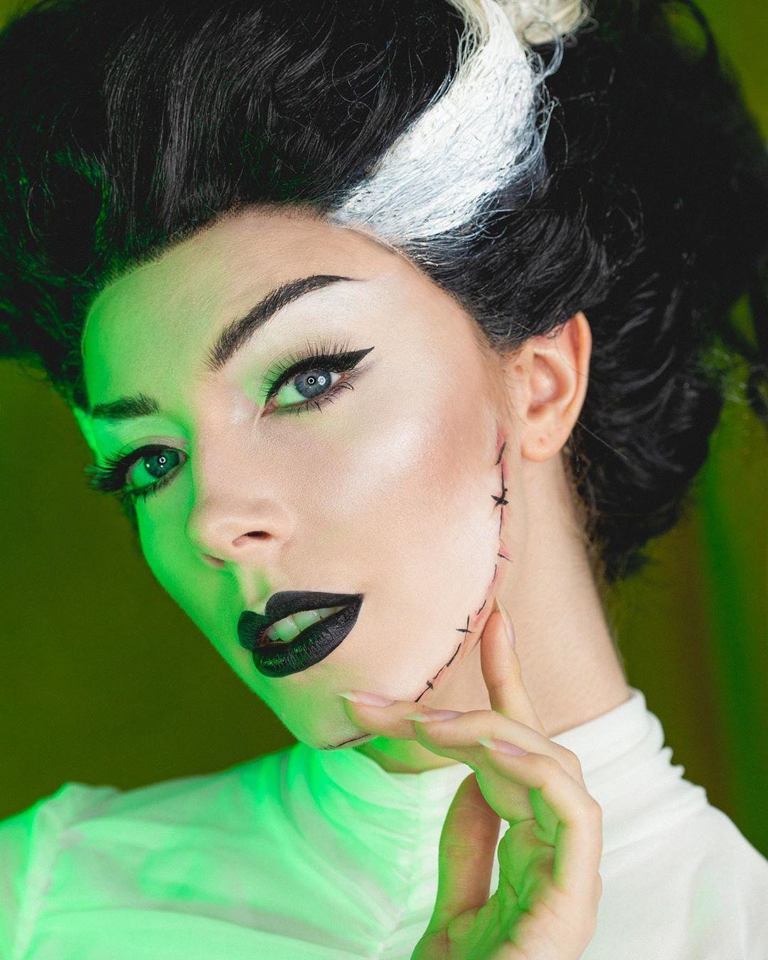 maquiagem de Halloween 45