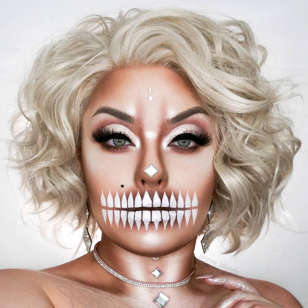 maquiagem de Halloween 82