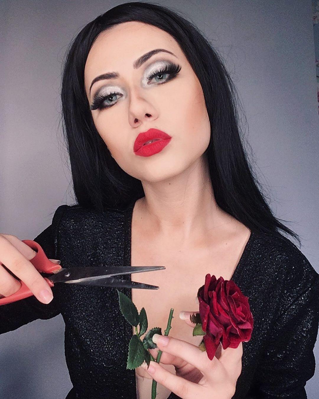maquiagem de Halloween 43