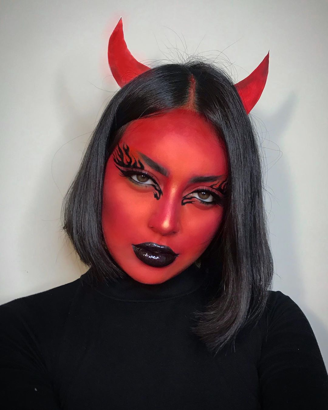 maquiagem de Halloween 90