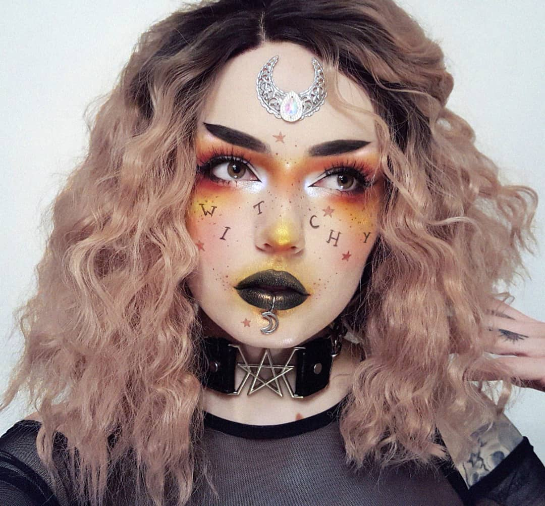 maquiagem de Halloween 52
