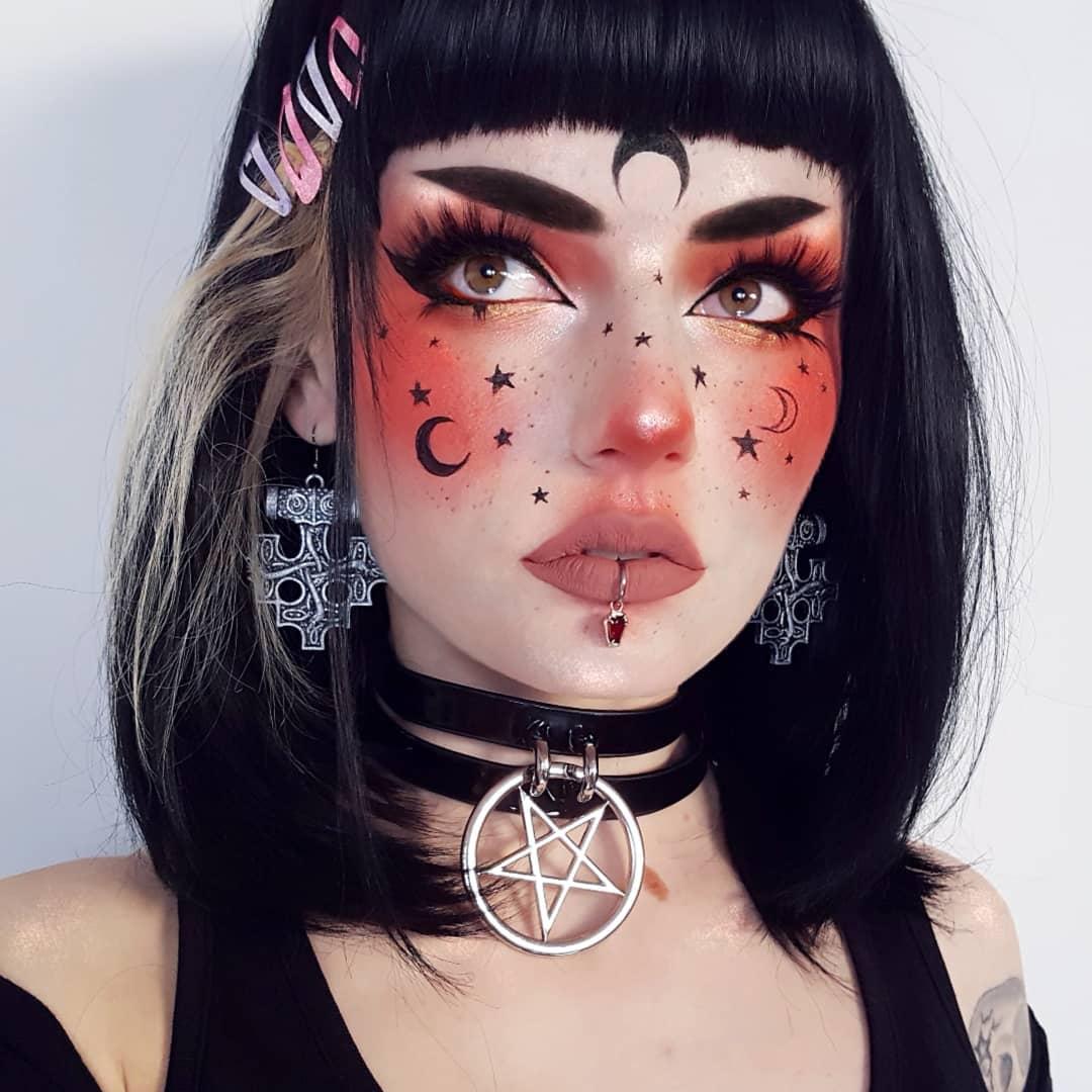 maquiagem de Halloween 97