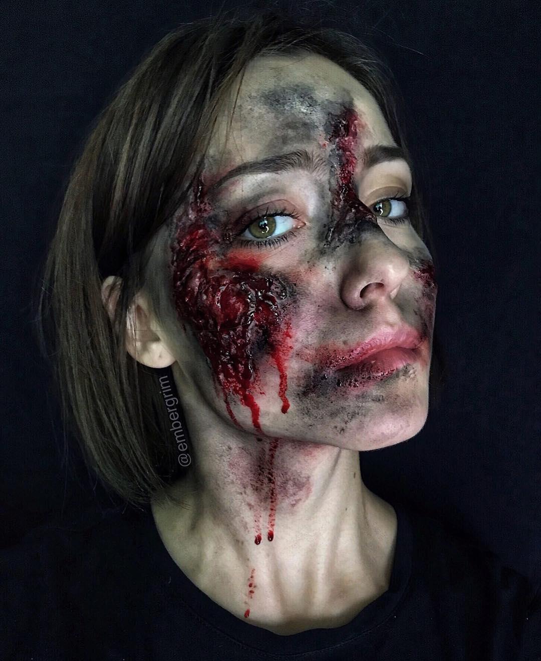 maquiagem de Halloween 95