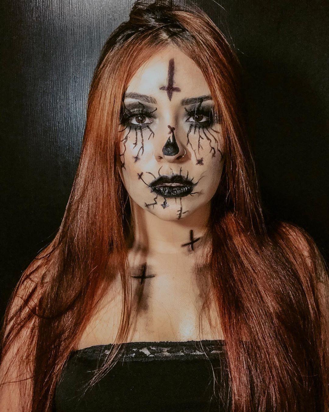 maquiagem de Halloween 88