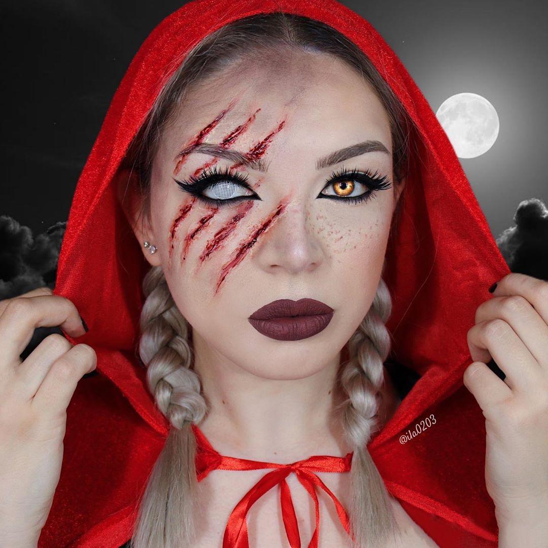maquiagem de Halloween 77