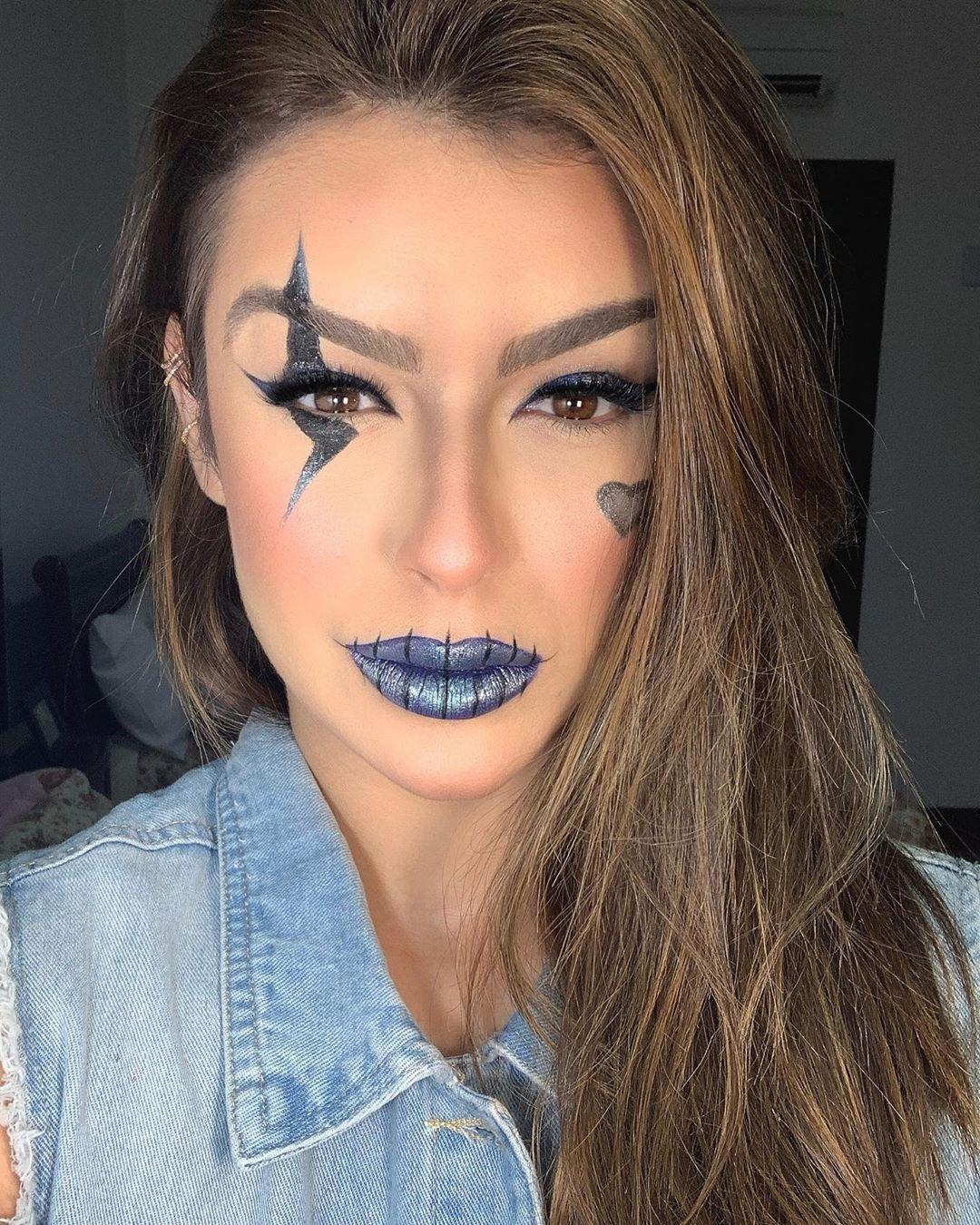 maquiagem de Halloween 69