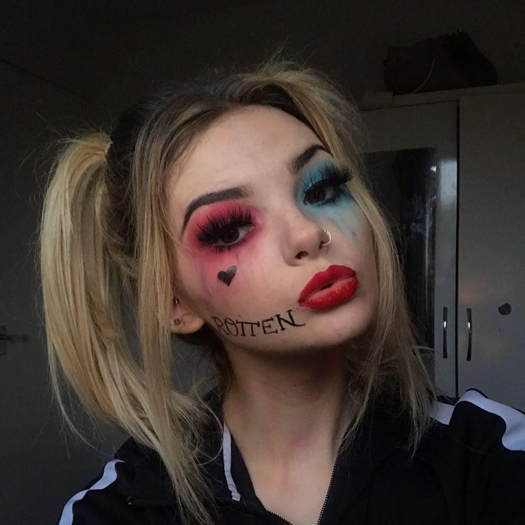 maquiagem de Halloween 34