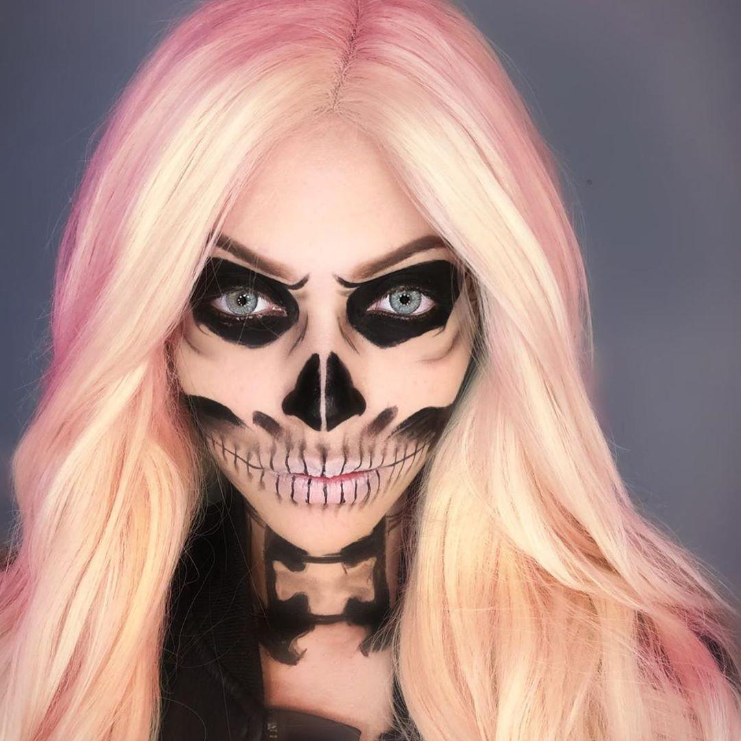 maquiagem de Halloween 79