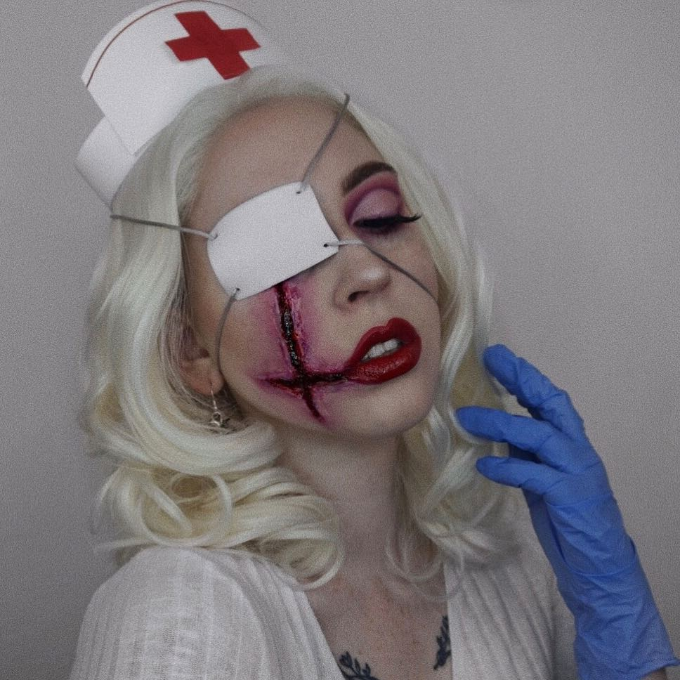 maquiagem de Halloween 75
