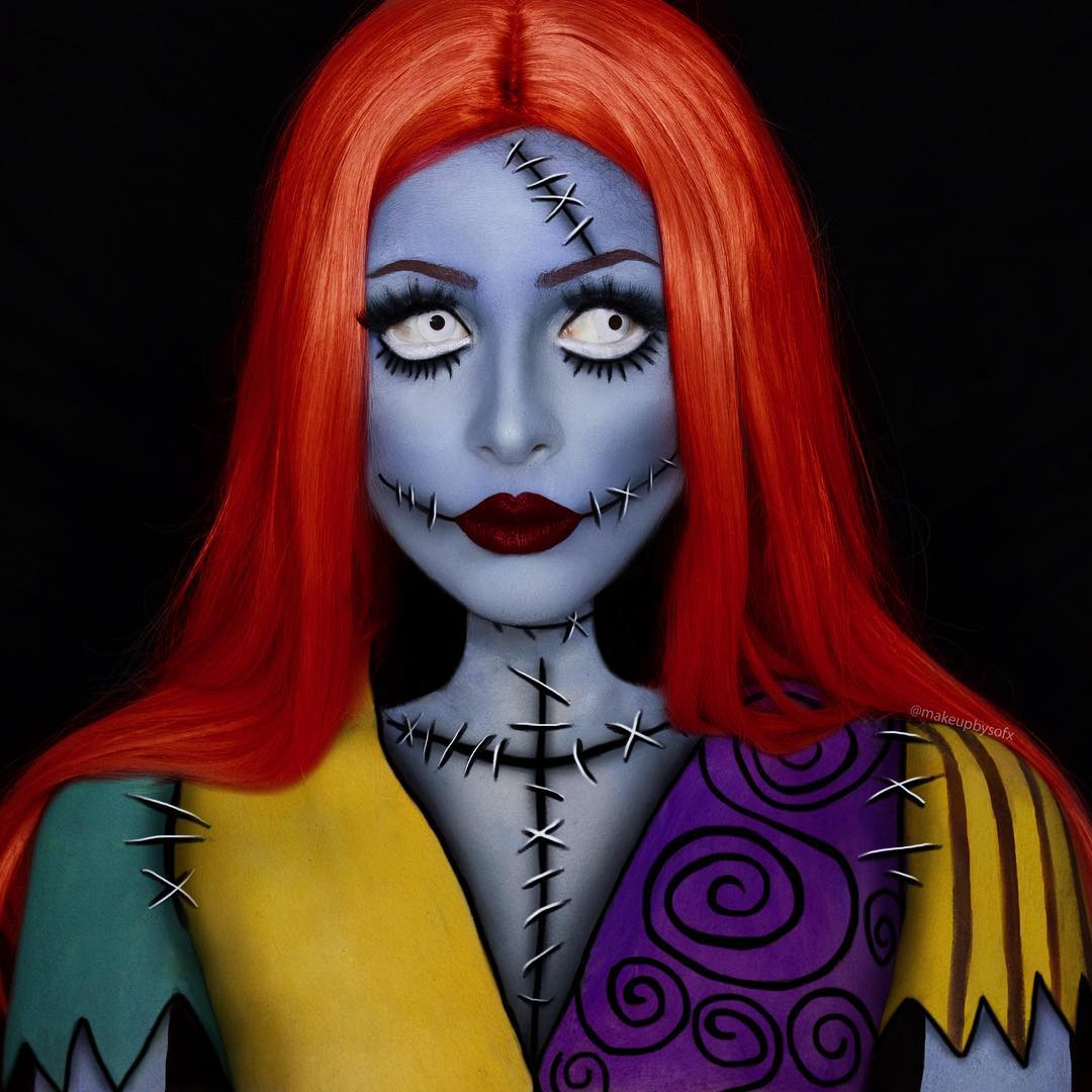 maquiagem de Halloween 7