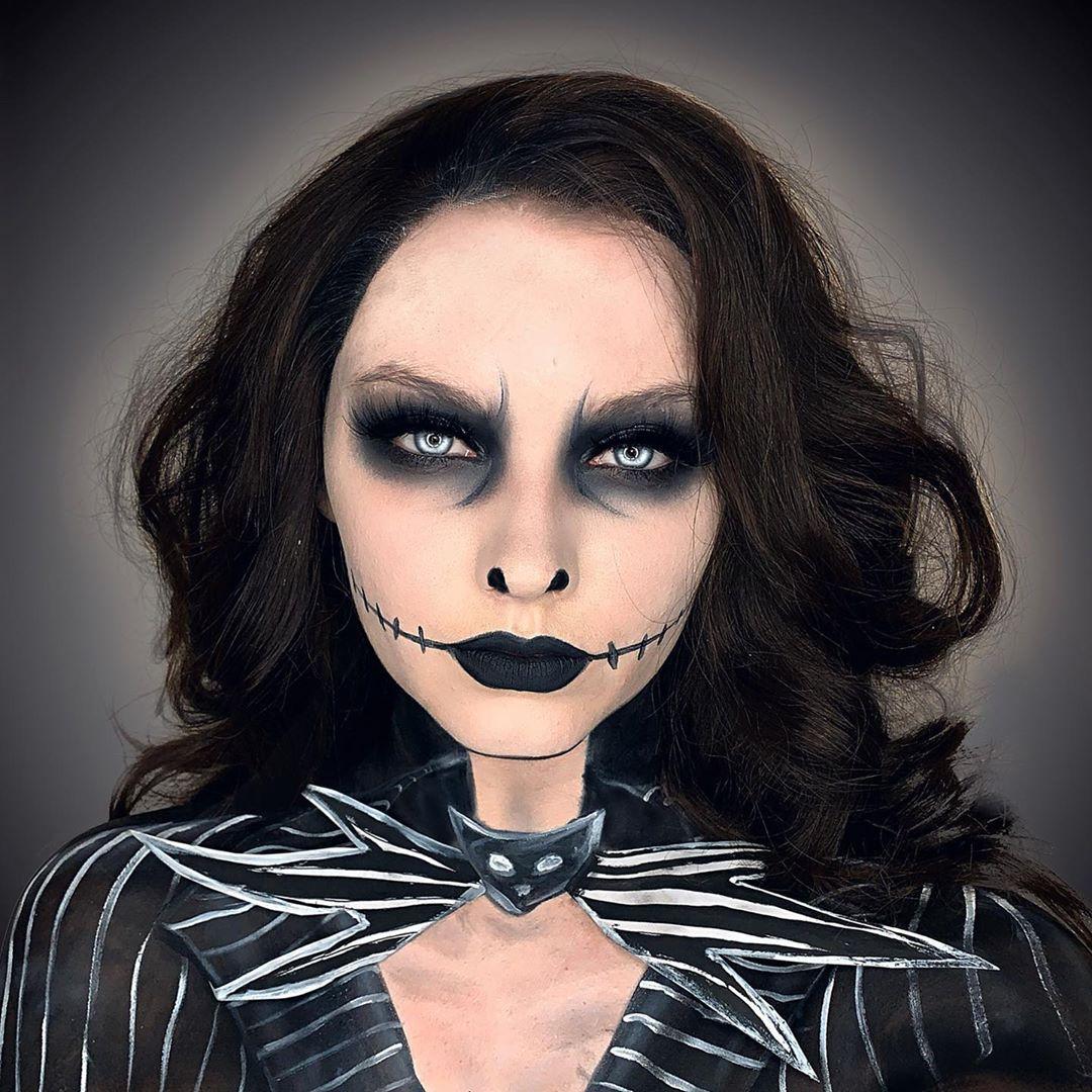 maquiagem de Halloween 5
