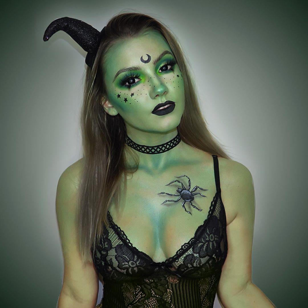 maquiagem de Halloween 50