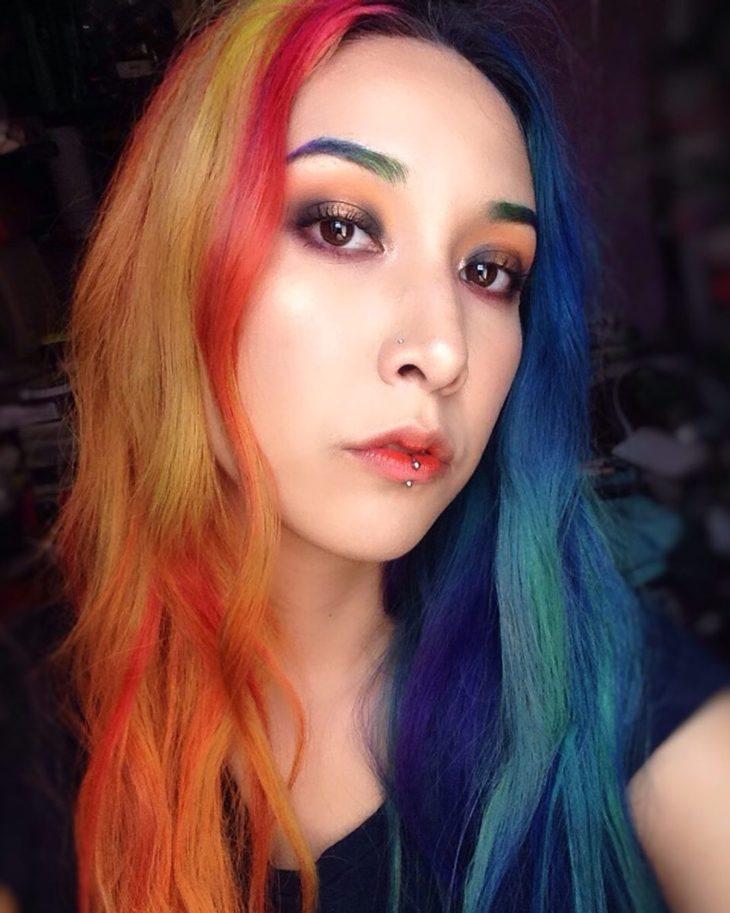 cabelos coloridos 50