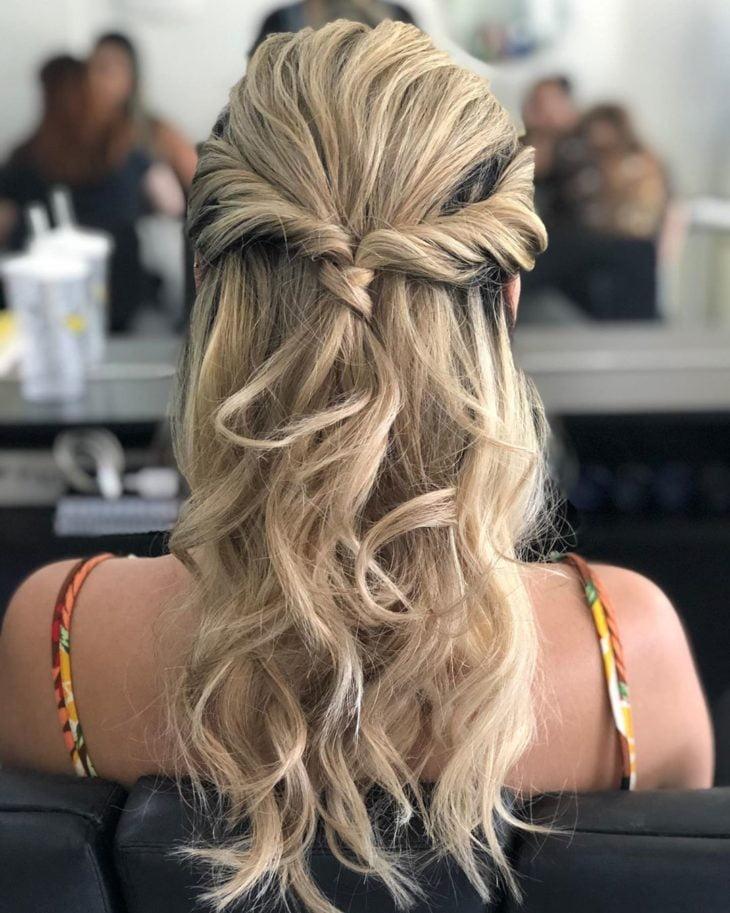 penteados fáceis 10