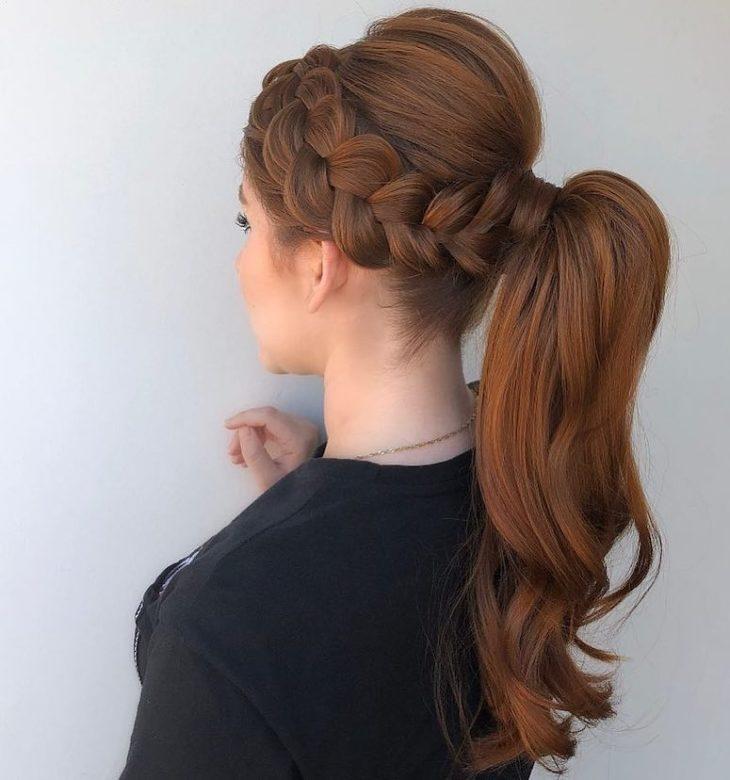 penteados para cabelos longos 68