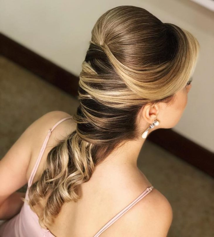 penteados para cabelos longos 73