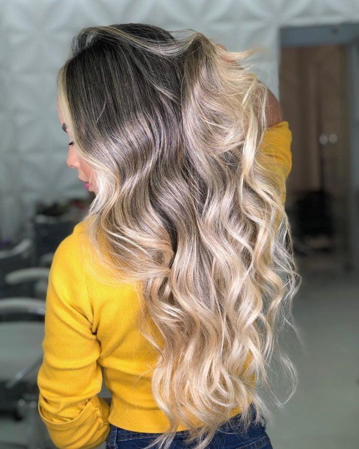 cabelos com luzes 1