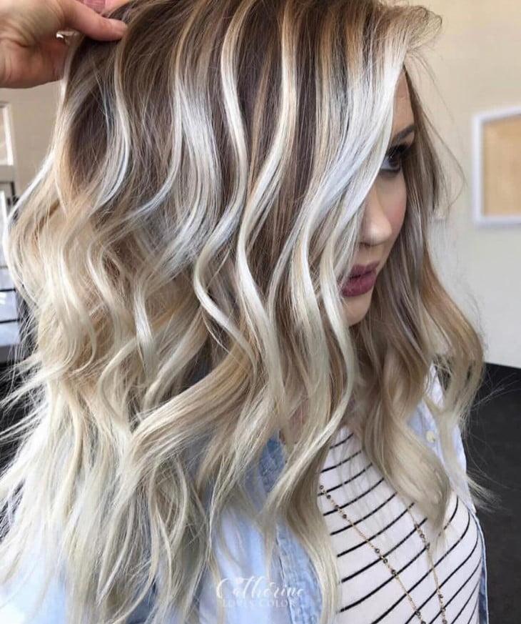 cabelos com luzes 3