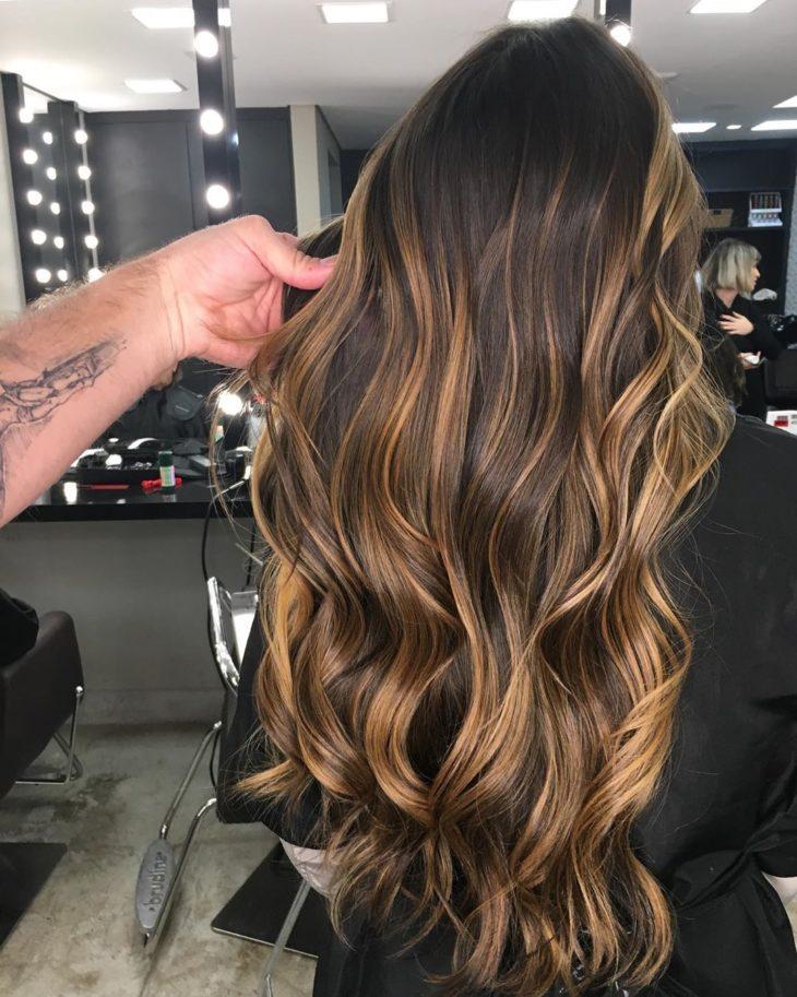 cabelos com luzes 25