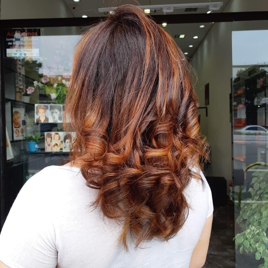 cabelos com luzes 39