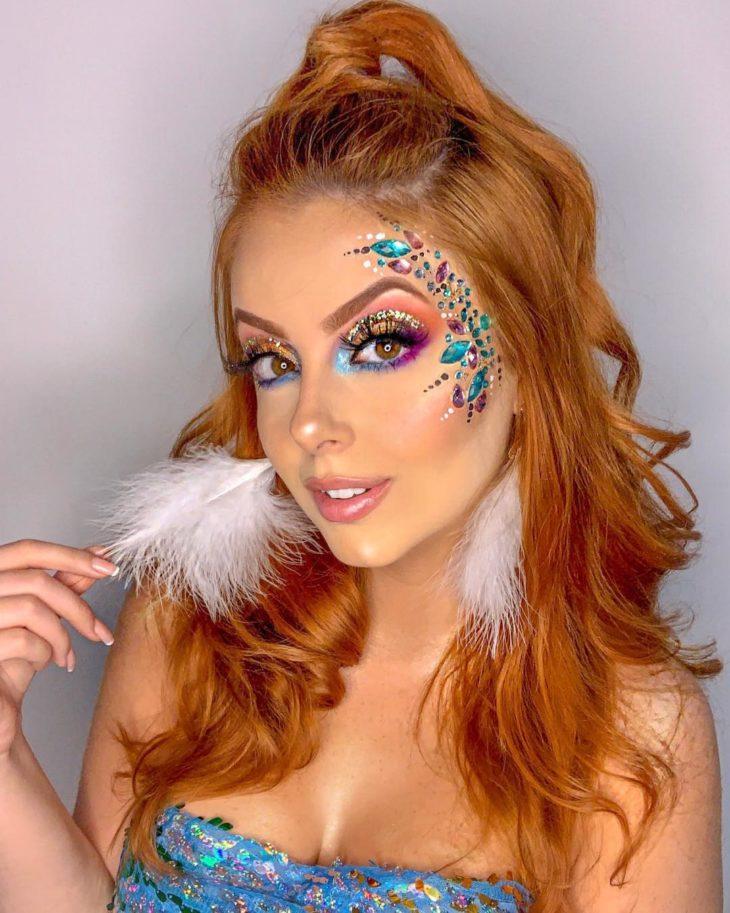 maquiagem para Carnaval 2