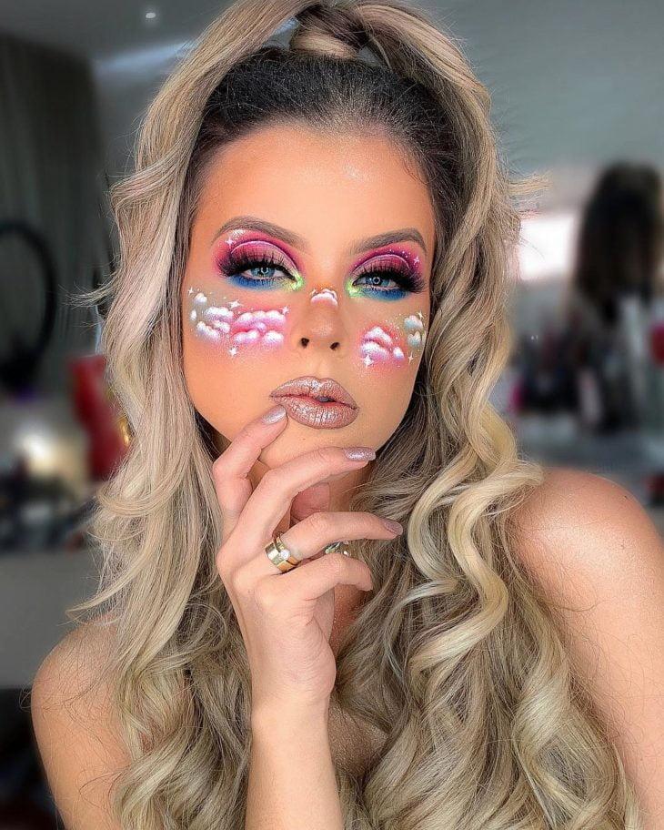 maquiagem para Carnaval 5