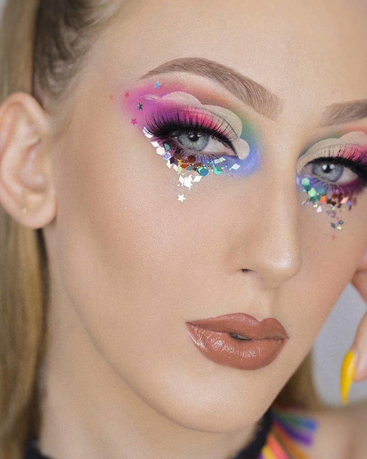 maquiagem para Carnaval 9