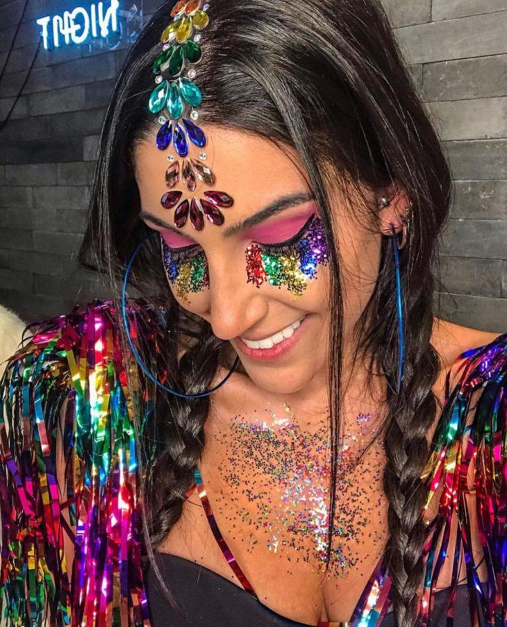 maquiagem para Carnaval 14