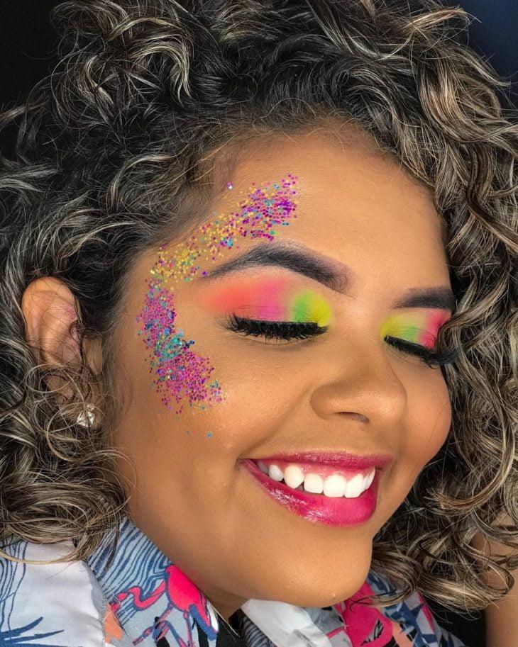 maquiagem para Carnaval 20