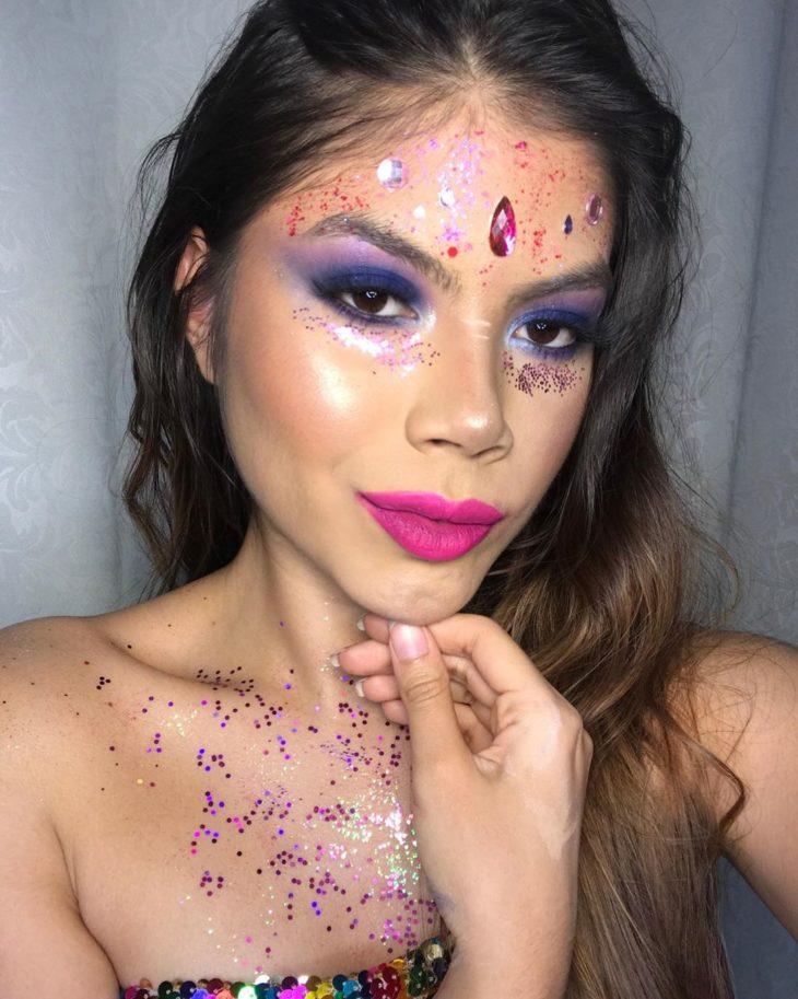 maquiagem para Carnaval 22