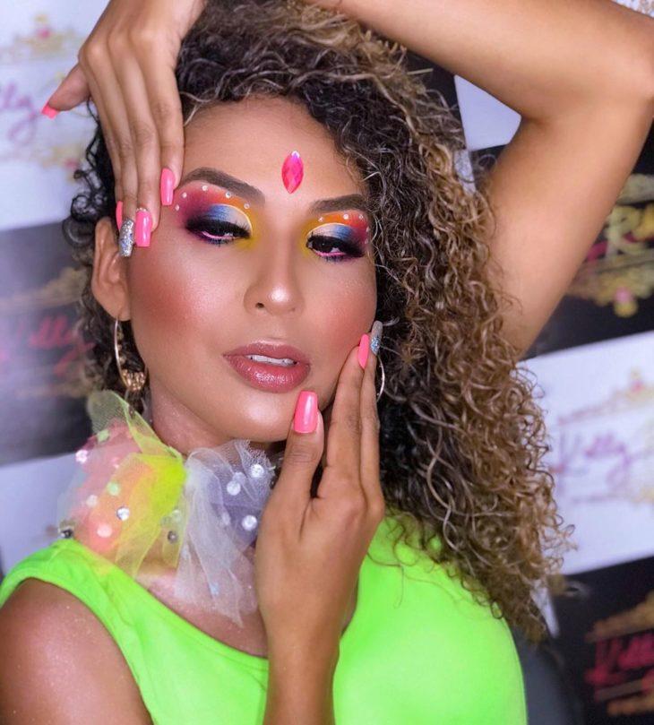 maquiagem para Carnaval 35