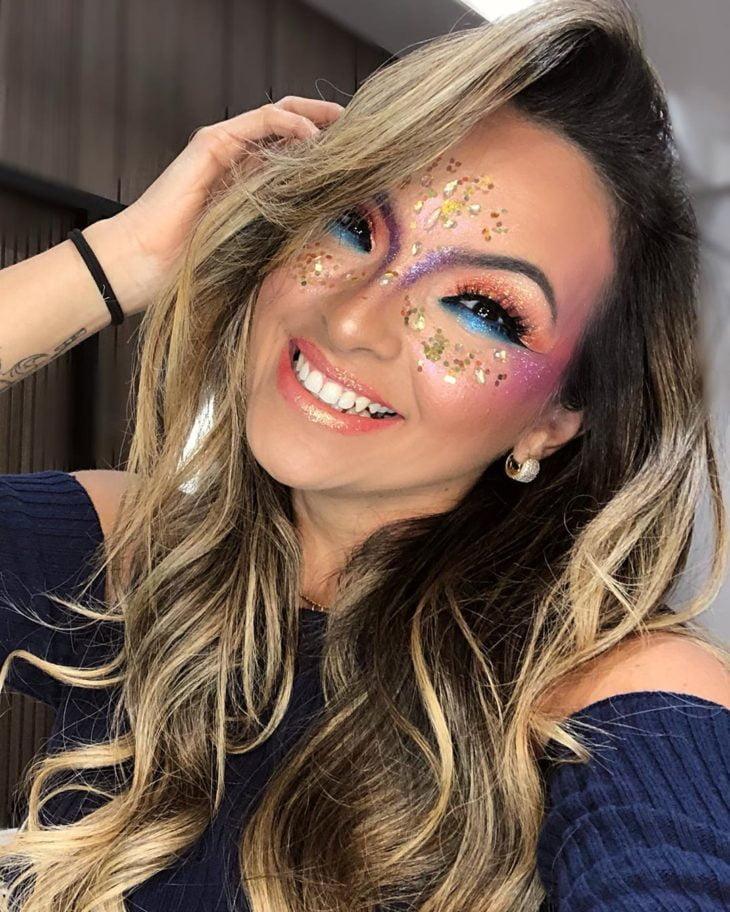 maquiagem para Carnaval 43