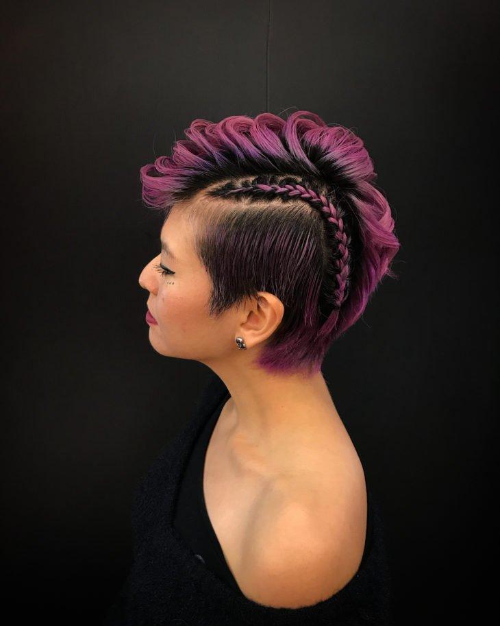 penteado moicano 17