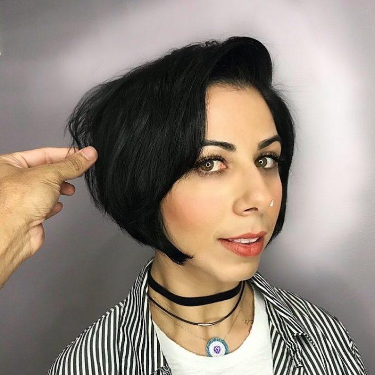 Chanel de bico: 50 inspirações para quem quer aderir ao corte - 46