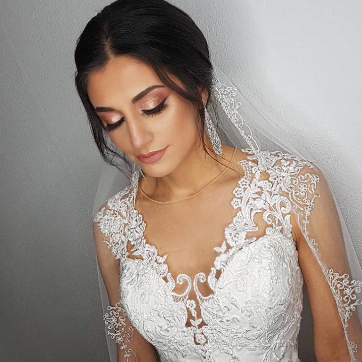 Maquiagem para noiva: 110 inspirações para arrasar no grande dia - 12
