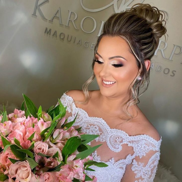 Maquiagem para noiva: 110 inspirações para arrasar no grande dia - 37