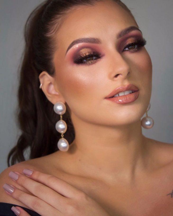Maquiagem para noiva: 110 inspirações para arrasar no grande dia - 26
