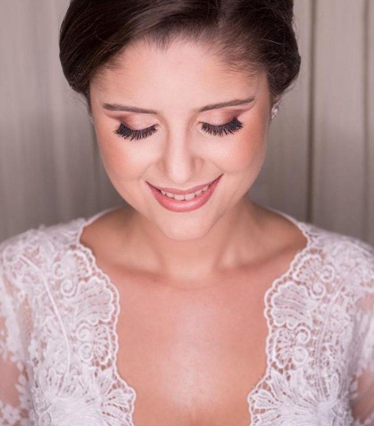 Maquiagem para noiva: 110 inspirações para arrasar no grande dia - 49