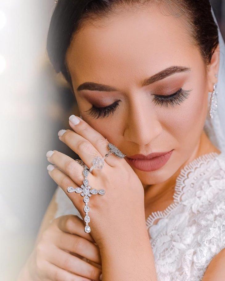 Maquiagem para noiva: 110 inspirações para arrasar no grande dia - 51