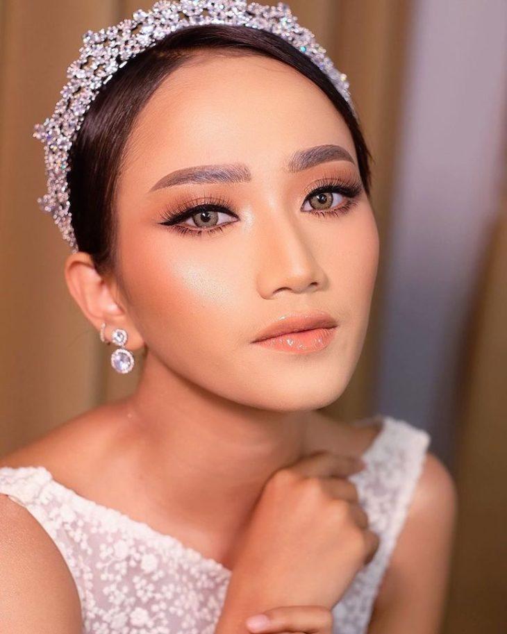 Maquiagem para noiva: 110 inspirações para arrasar no grande dia - 59