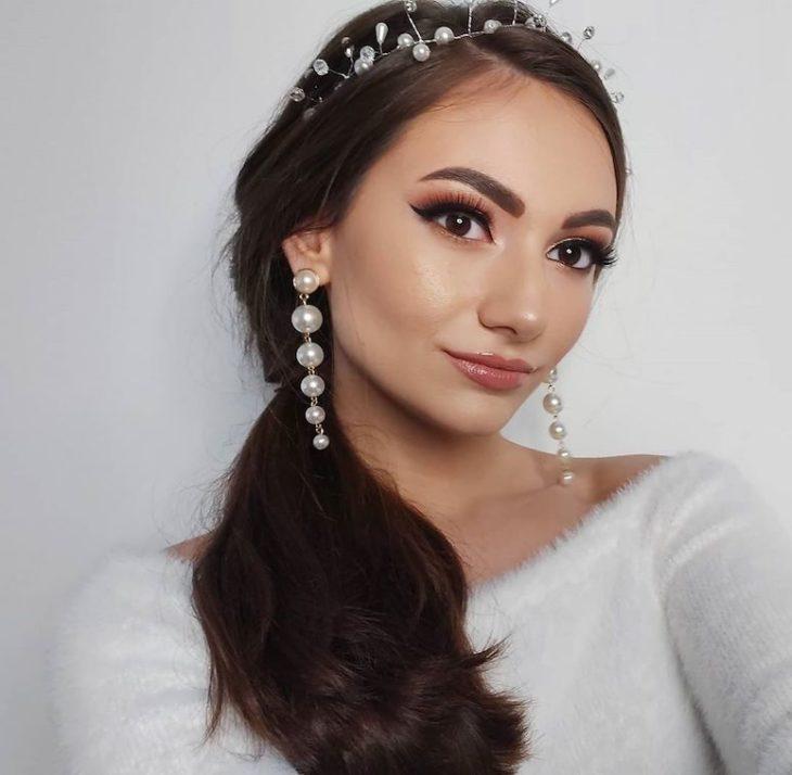 Maquiagem para noiva: 110 inspirações para arrasar no grande dia - 61