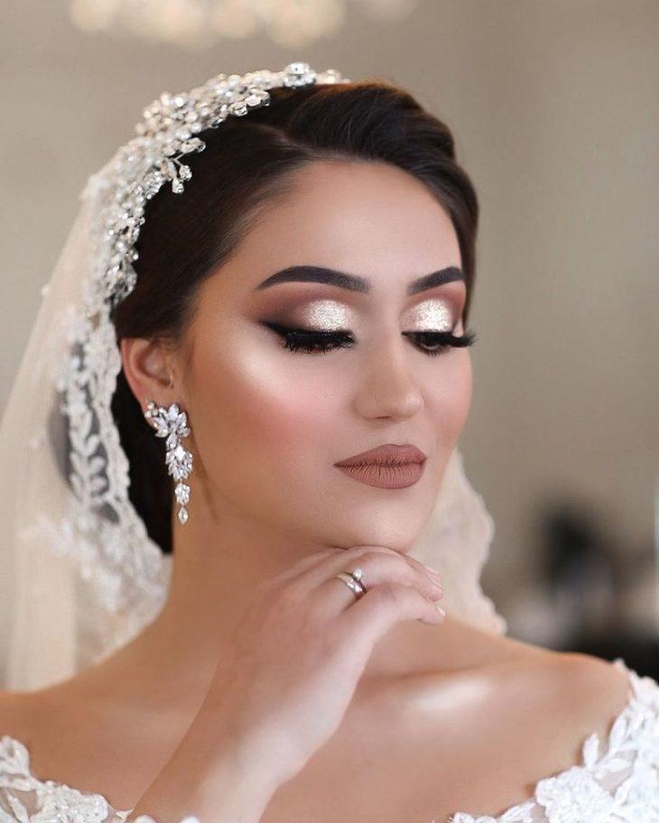 Maquiagem para noiva: 110 inspirações para arrasar no grande dia - 65