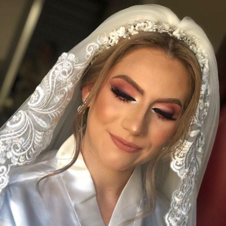 Maquiagem para noiva: 110 inspirações para arrasar no grande dia - 67