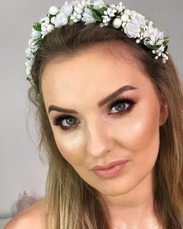 Maquiagem para noiva: 110 inspirações para arrasar no grande dia - 87