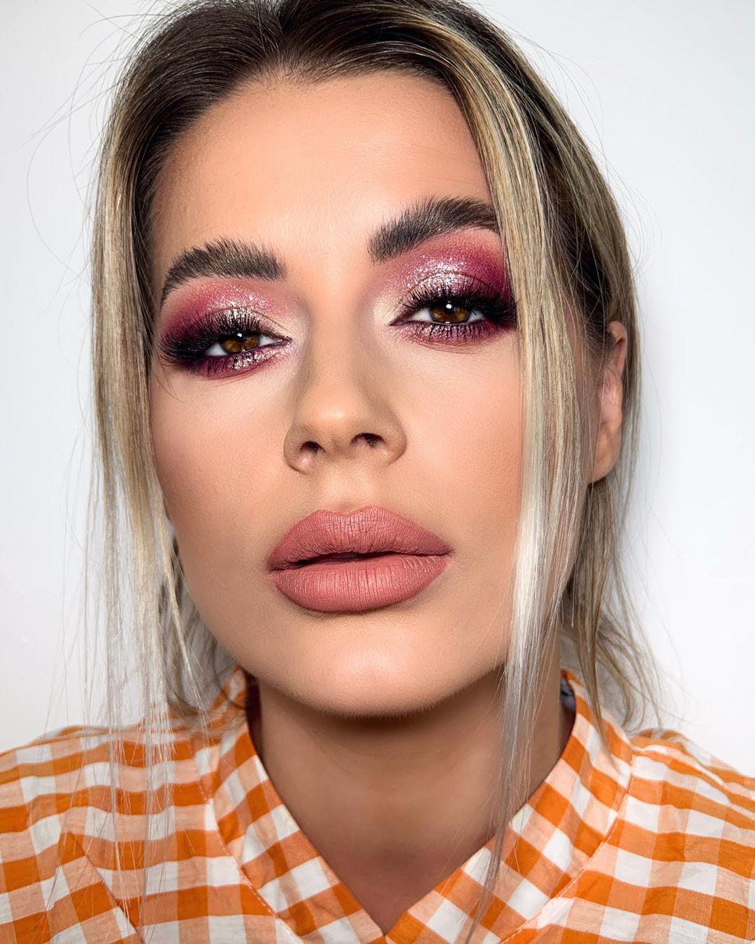 maquiagem rosa 18