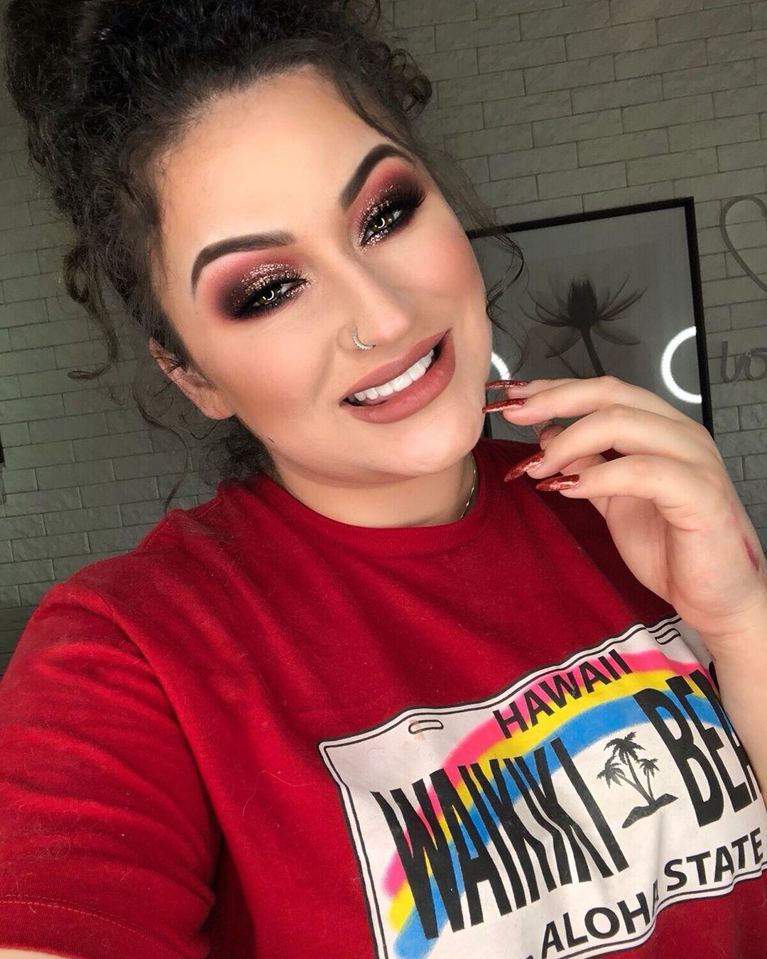 maquiagem rosa 13