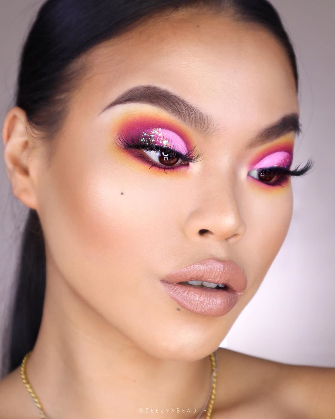 maquiagem rosa 19